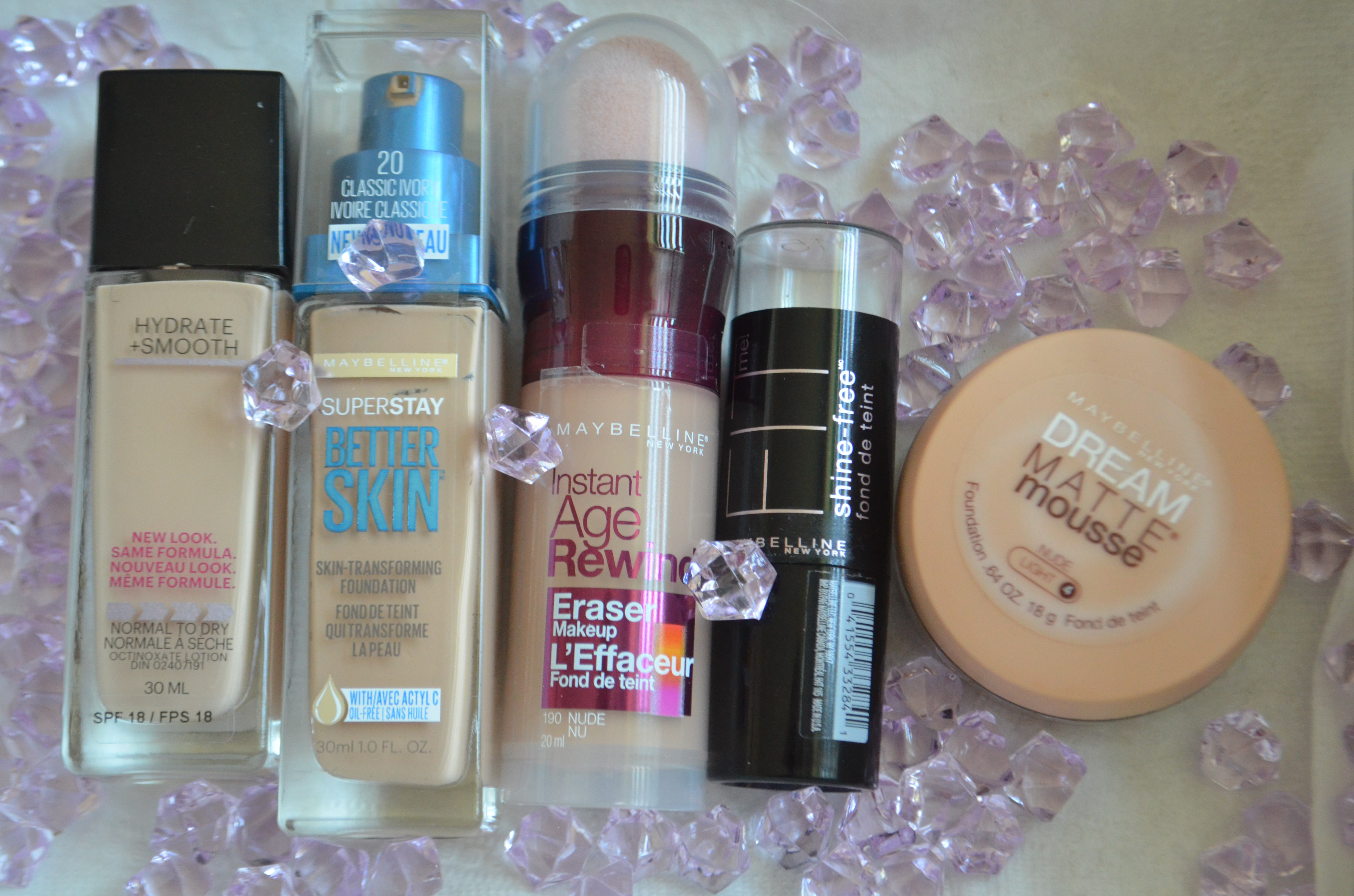 ✤ Maybelline Foundations Review ✤ | Beauty Politics